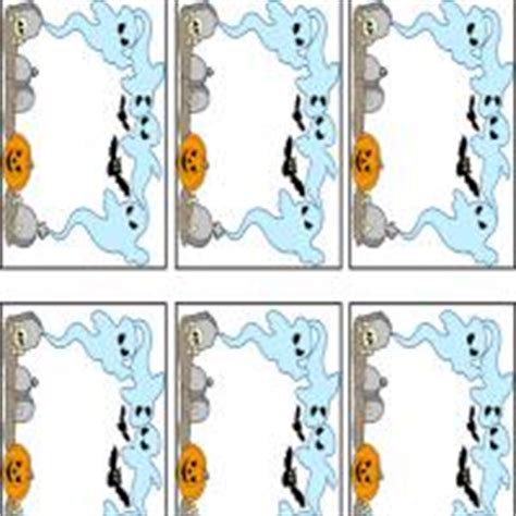 printable ghost name tags playful ghosts name tags