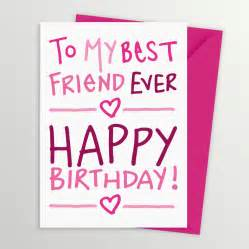 best friends birthday cards best friend birthday card by a is for alphabet