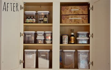 Ideas For Organizing Kitchen Organized Baking Cabinet Living Well Spending Less 174