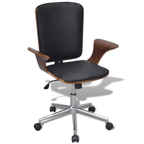 swivel office chair swivel office chair bentwood with artificial leather