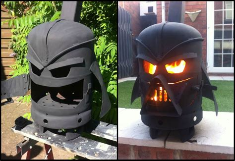 Using A Chiminea How To Build A Darth Vader Log Burner From A Gas Bottle