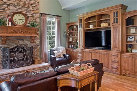 dixon custom cabinets traditional living room other