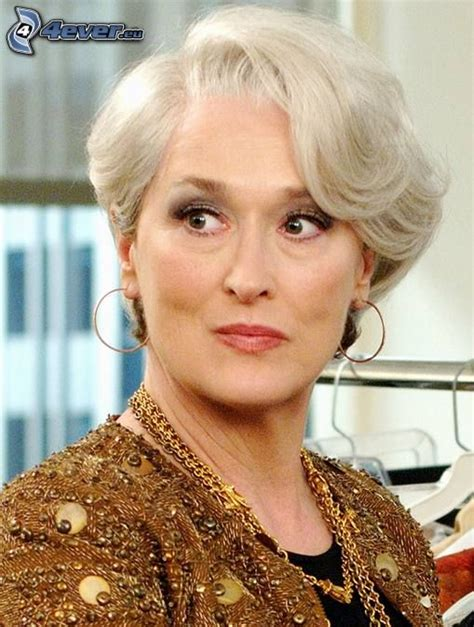 meryl streep as miranda priestly in devil wears prada miranda priestly hair 40s 50s fem pinterest miranda