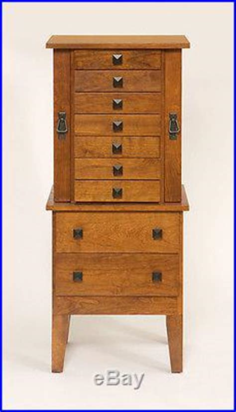 amish made oak jewelry armoire lancaster county pa amish made large jewelry armoire