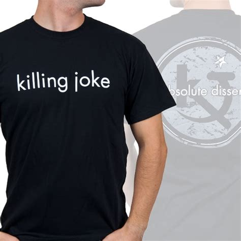 Circle Logo L S T Shirt killing joke quot circle logo quot t shirt indiemerchstore