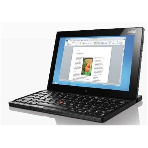 Tablet Lenovo Keyboard lenovo thinkpad tablet 2 10 1 quot 64gb win 8 pro tablet
