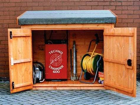 tool  log storage sheds garden storage box pennine