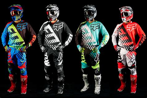 fox motocross apparel 2015 fox 360 savant racewear dirt action