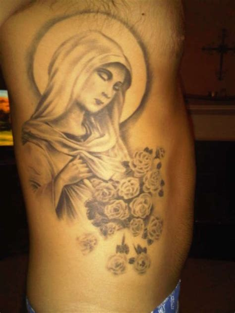 mama mary tattoo design pictures to pin on tattooskid