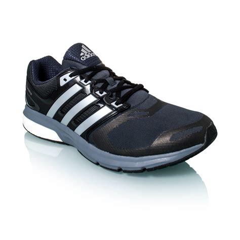 Jual Adidas Questar Boost adidas questar boost techfit mens running shoes black silver metal grey sportitude