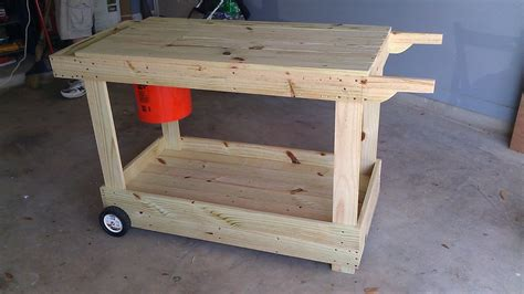 portable potting bench she s just a girl who creates portable potting bench