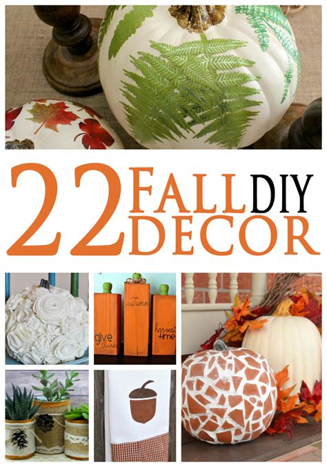 22 fall diy decor ideas april golightly