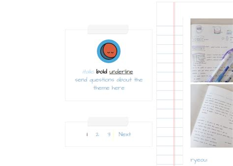 tumblr themes for notes notes tumblr