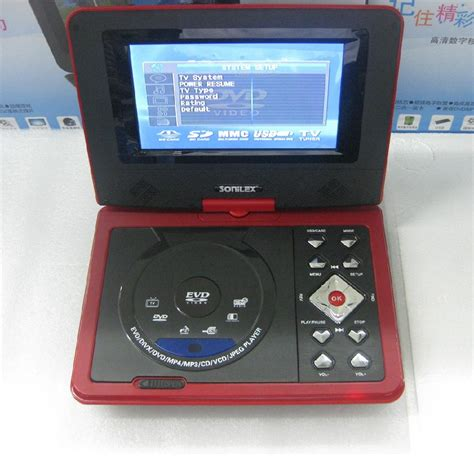 Usb Player For Tv mini 7 inch lcd portable dvd player with usb mpeg4 tv
