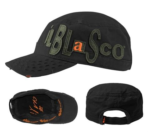 cd vasco 2014 cappello patch nero il blasco 2014 vasco