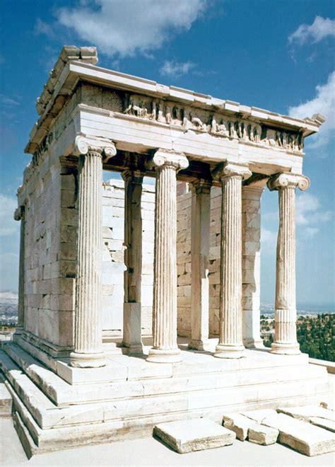 temple of athena nike 5c bc athenian acropolis greece architecture antiquity the list