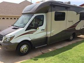 Rv Awnings Used 2015 Used Itasca Navion Iq 24v Class C In Oklahoma Ok