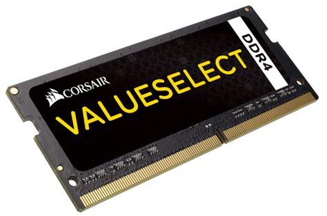 Ram Laptop Corsair Ddr4 Sodimm Ddr4 16gb 2133mhz Corsair Value Ram For Notebooks Pn Cmso16gx4m1a2133c15 Computer Alliance
