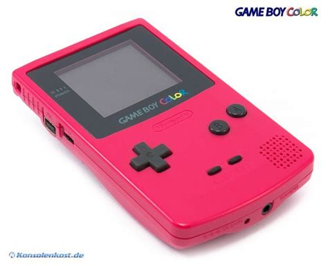 Gameboy Color Console Rosa Pink Used Mint Condition For Gameboy Color