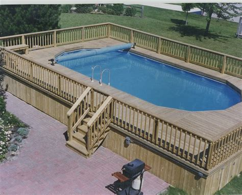 pool deck awesome ground pool decks plans ideas http lovelybuilding above ground pool deck plans