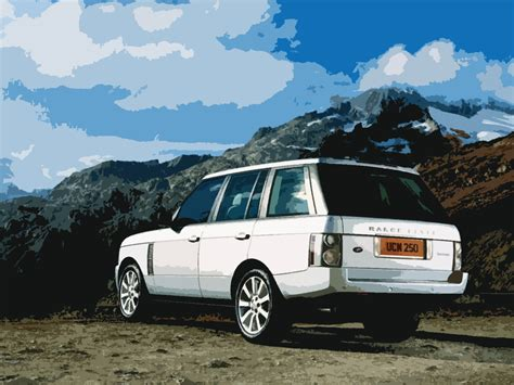 range rover vector 2007 range rover vector by matt in on deviantart