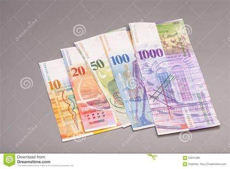 Rechnung Verjährung Schweiz Schweizer Franken W 228 Hrung Der Schweiz Stockfoto Bild 55941288