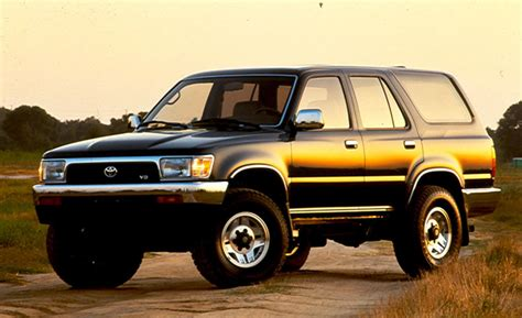 1994 Toyota 4 Runner Car And Driver