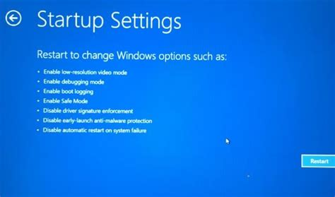 install windows 10 in safe mode boot windows 10 in safe mode when pc is not booting