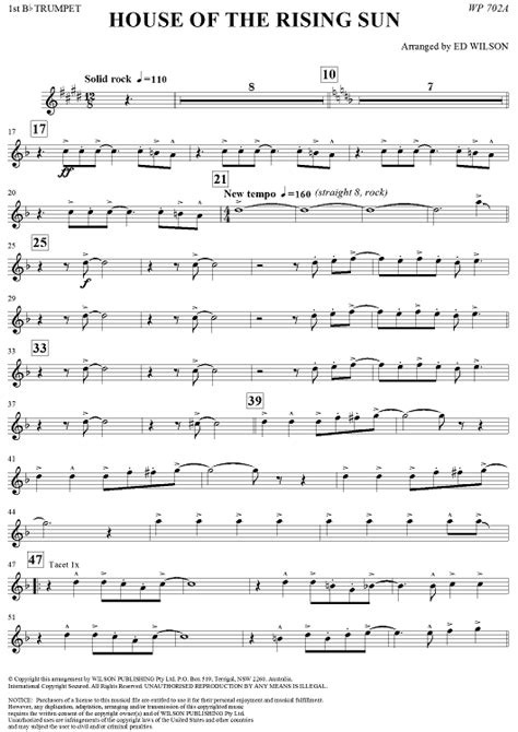 house of the rising sun piano music guitar sheet music house of the rising sun free printable piano sheet music 8 notes