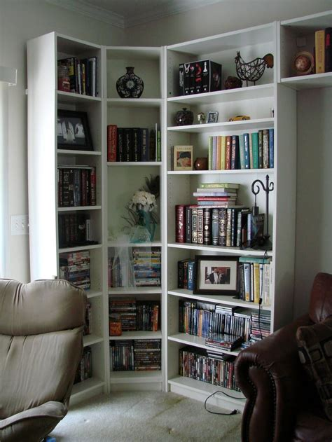 ikea billy corner bookcase best 25 corner bookshelves ideas on