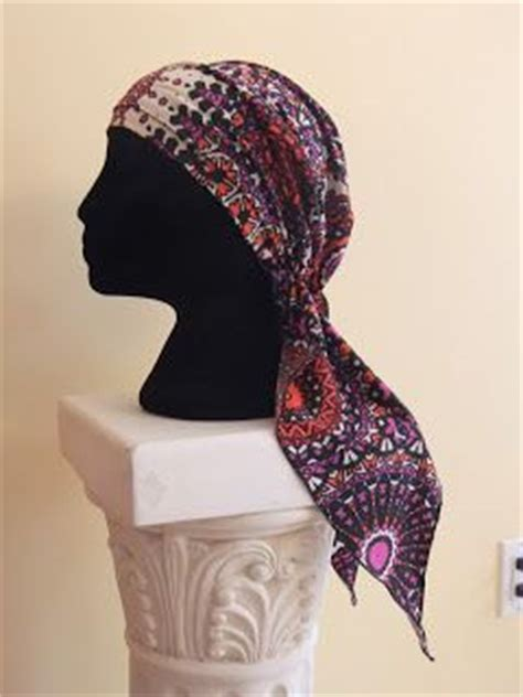 free sewing hat patterns chemo scarves free easy chemo sewing pattern for pretied bandana snip