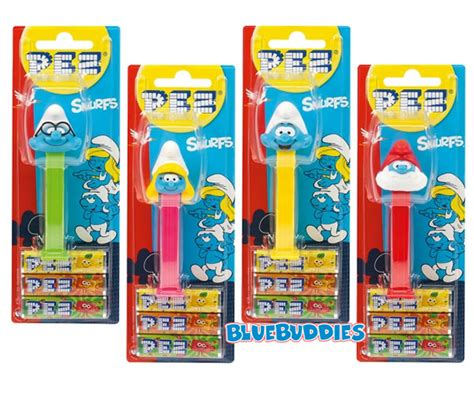smurf pez collection 2017