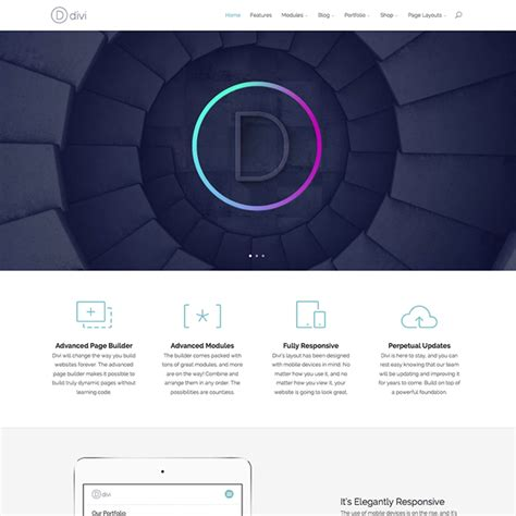 Divi Wordpress Theme Wpexplorer Divi Theme Templates