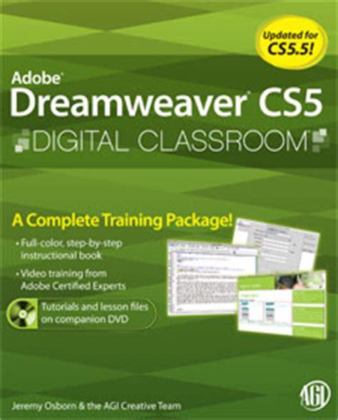 tutorial adobe dreamweaver cs5 5 dreamweaver tutorials