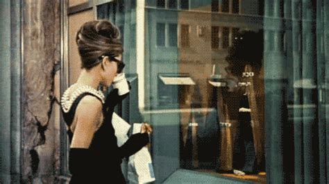 tiffany box hollywood trend public hair audrey hepburn coffee gif find share on giphy