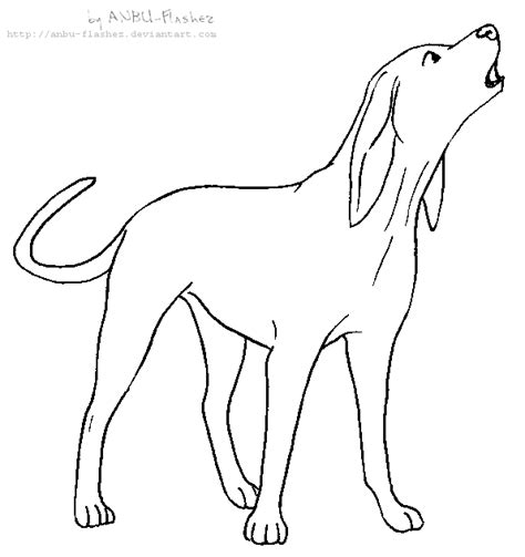 Coonhound Coloring Pages Coloring Pages