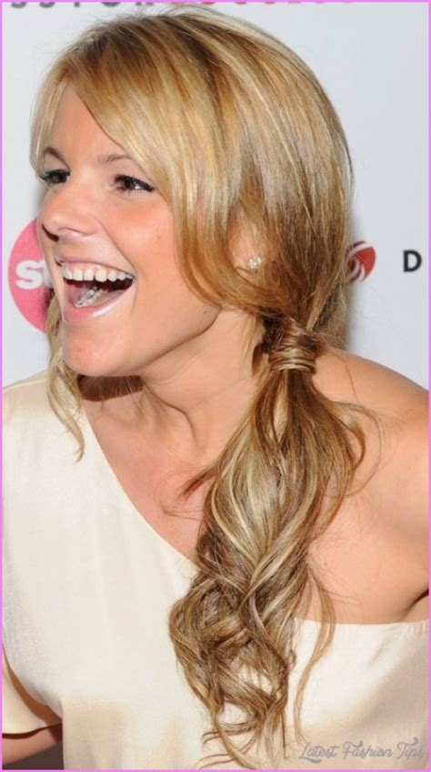 hairstyles to the side for homecoming prom hairstyles side ponytail latestfashiontips com