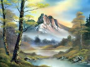 landscape artists bob ross beautiful paintings tapandaola111