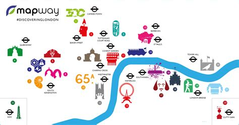 river thames attractions map tube map guide to the best london attractions mapway