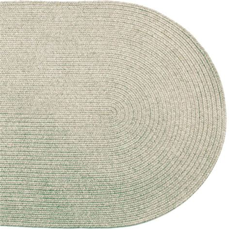 Oval Outdoor Rugs Solid Braided Area Rugs Indoor Outdoor Oval Rectangle Ebay