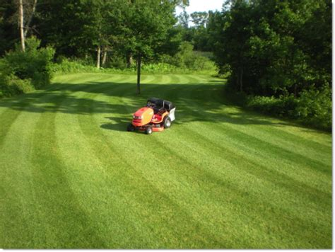 lawn pattern roller lawn striping how to mow ballpark grass patterns simplicity