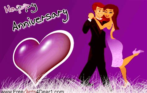 Wedding Anniversary Greeting Gif by Happy Anniversary Images Animated Cliparts Co