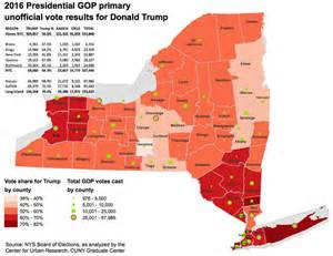 us primary election map 2016 maps nyc primary election results mapped for