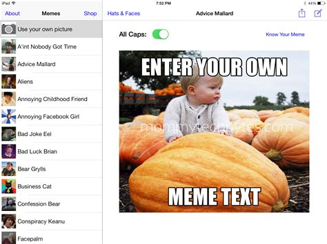 Creating Memes - how to make a killer meme with an app in five minutes