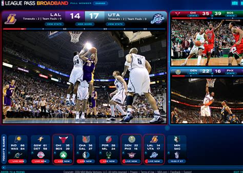 nba league pass mobile nba league pass broadband on behance