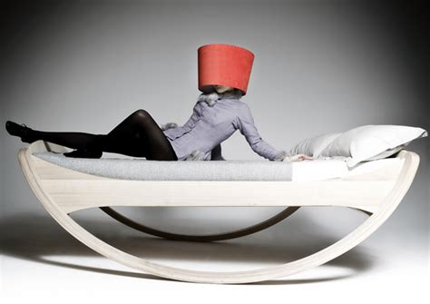 rocking bed for adults pretty sleepy dream machine yanko design