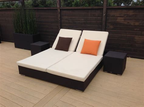 small double chaise sofa double chaise lounge patio