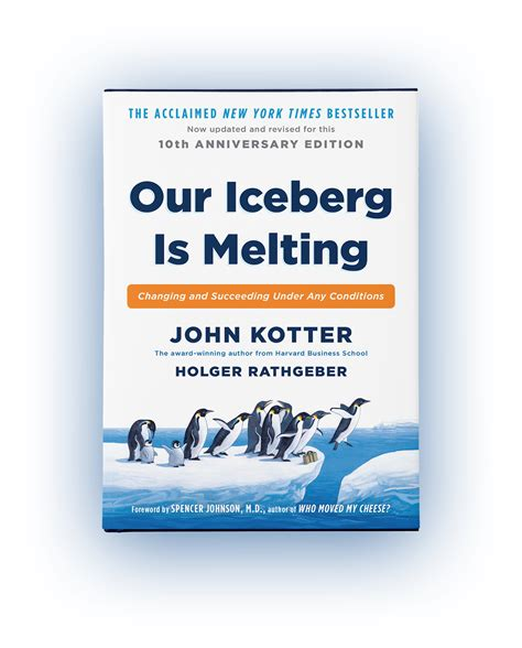 kotter our iceberg is melting our iceberg is melting changing and succeeding under any