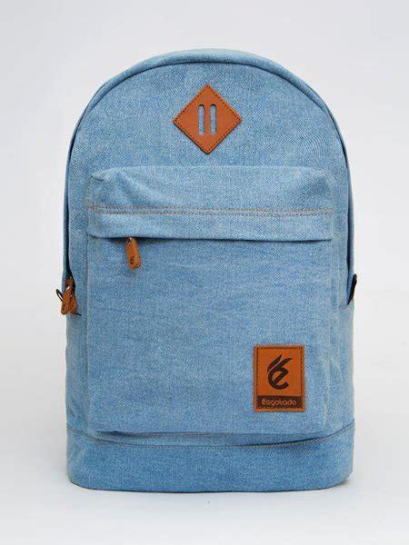 Tas Esgotado Denimo Tercerio Light Blue Jual Tas Backpack Laptop Kerja Wanita Denimo Tercerio