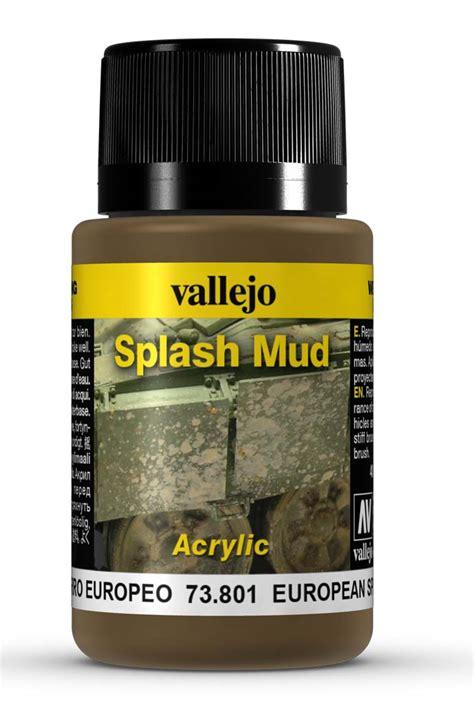 european splash mud by vallejo 73801